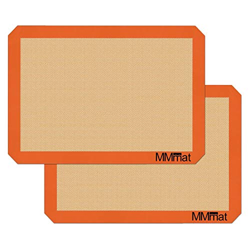 Silicone Baking Mats - Best German Silicone - Set of 2
