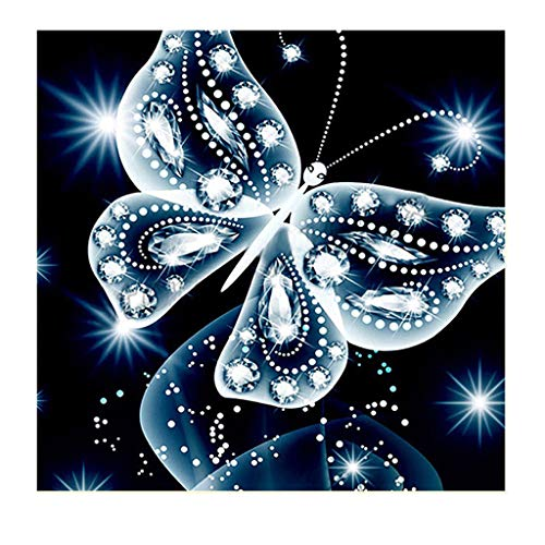 Xisheep 5D Embroidery Paintings Rhinestone Pasted DIY Diamond Painting Cross Stitch, Home & Garden,Diamond Painting, Halloween Sale (G)