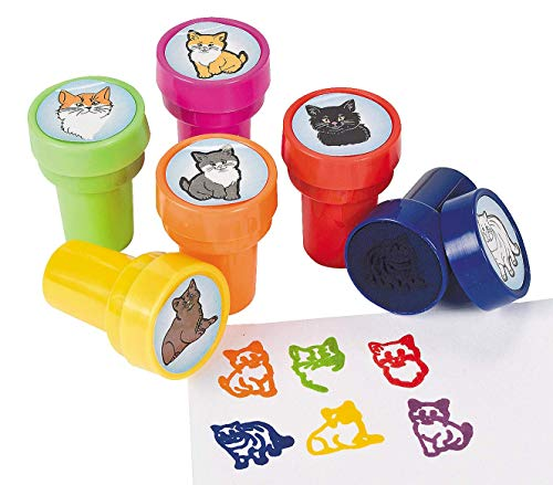 Kitty Kitten Cat Stampers - 24 ct