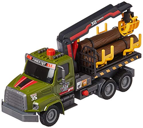 Dickie Toys 12' Air Pump Action Logging Truck Vehicle