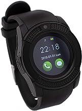 Reloj Inteligente Compatible con Alcatel One Touch Pop S9, CEKA TECH® con Bluetooth Smart Watch con cámara Curva táctil y Soporte SIM/TF Card