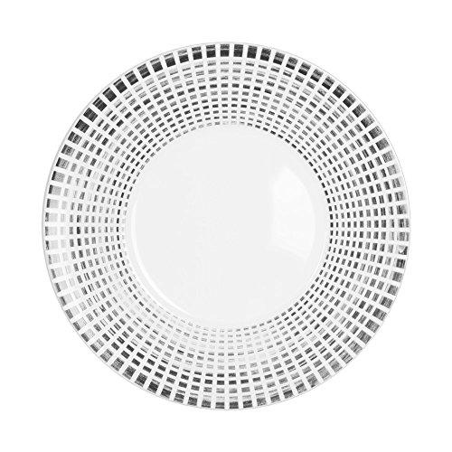 Table Passion - Assiette à dessert 23 cm noir astral (lot de 6)