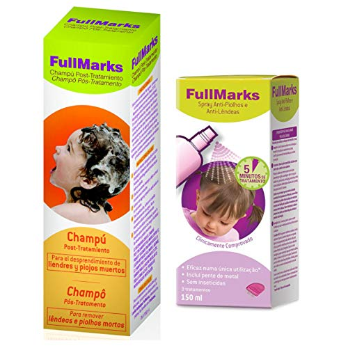 Fullmarks Pack Spray Anti-Piojos y Anti-Lémesas con Descuen