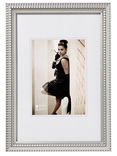 walther design JF318S Tiffany Bilderrahmen, 13 x 18 cm, silber