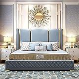 Dreamzee Elevate™ - Globally Certified 100% Natural Latex + Cool Memory Foam - Luxury Hybrid Organic Mattress - Ortho Medium Comfort (78x72x6 Inches)