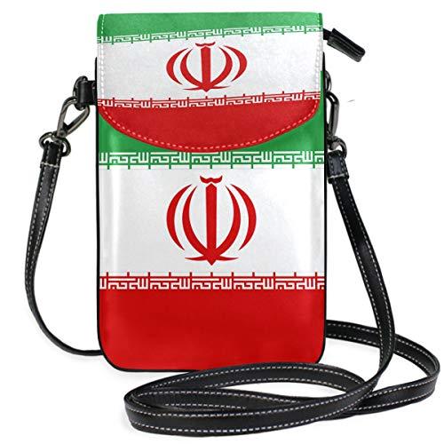 Sac à bandoulière avec Porte-Cartes pour Femme Motif Drapeau iranien