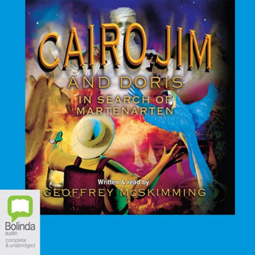 Cairo Jim and Doris in Search of Martenarten audiobook cover art