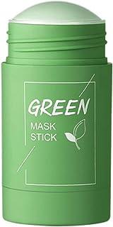 El té verde arcilla palillo de la piel Mascarilla Máscaras Cuidado Hidratante Hidratante Blanqueadora purificante de arcil...