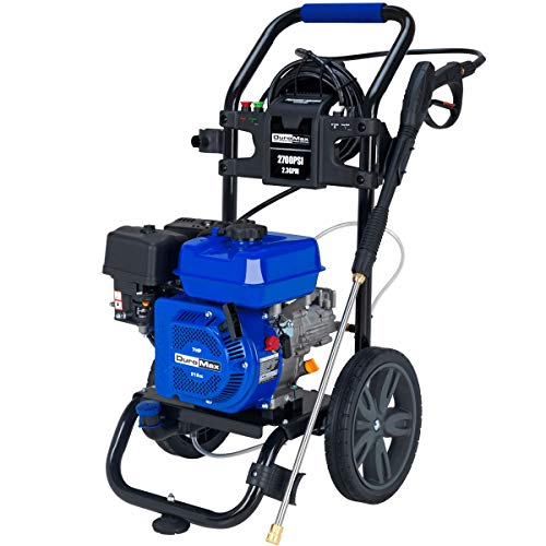 Duromax XP2700PWS Gas Engine Pressure Washer – 2700 PSI – 2.3 GPM – 5 HP