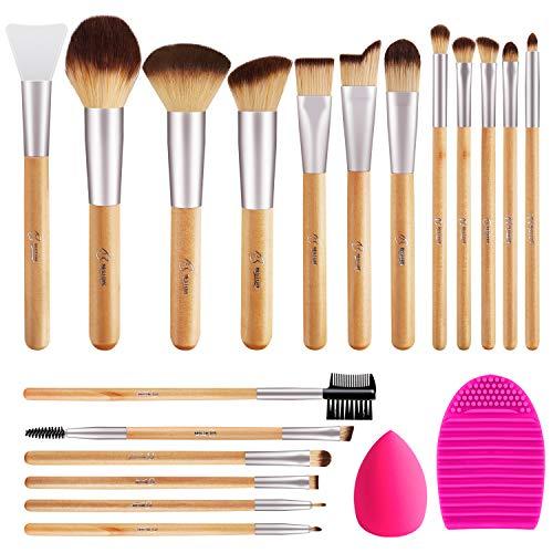 BESTOPE Makeup Brushes 17Pcs Makeup Brush Set with...