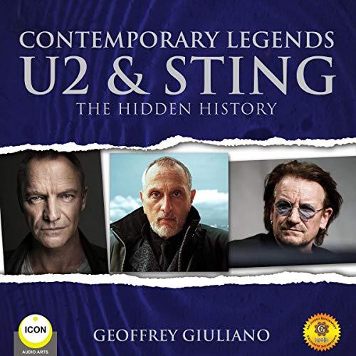 Contemporary Legends U2 & Sting audiobook cover art