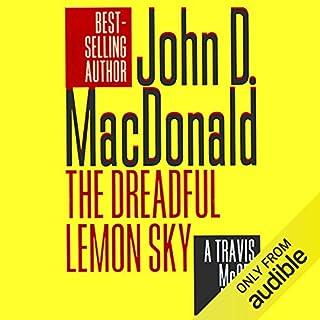 The Dreadful Lemon Sky audiobook cover art