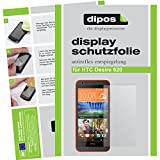 dipos I 2X Schutzfolie matt kompatibel mit HTC Desire 620 Folie Bildschirmschutzfolie