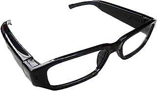【Lulu LAB】720P HD高画質 メガネ型ビデオ&カメラ microSD対応 高解像度1280×720 眼鏡 メガネ 小型カメラ スパイ 防犯 録画 (Lulu LABオリジナル日本語説明書付き)