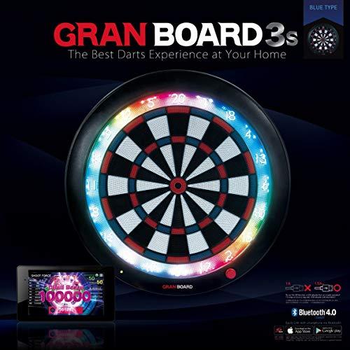 ダーツ ボード GRAN DARTS 【グランダーツ】 グランボード3s ブルータイプ (GRAN BOARD 3s Blue Type) | 電子ダーツボード