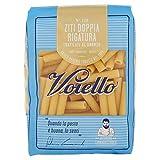 Voiello Pasta Ziti Doppia Rigatura N.125, Pasta Corta di Semola Grano Aureo 100%, Specialità Napoletane - 500 gr