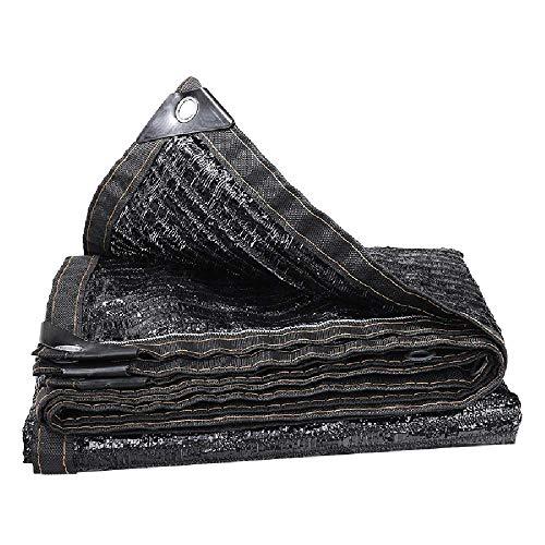 JINHH Schwarz Shading Net, Sunblock Schatten Tuch Aus Polyethylen 90% Anti-Aging-Encrypted Dick Für Balkon Terrasse Blumen Pflanzengewächshaus Shade Net Gebraucht
