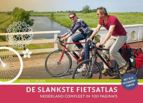 De slankste fietsatlas van Nederland: Nederland compleet in 100 paginas