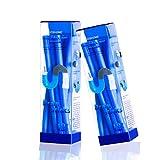 LiebHome abfluss Sticks/Drain Sticks Abflussreiniger Stäbchen/hält Abflussrohre sauber und frei von Verstopfungen Pack mit 12 Stäbchen blau (2 Pack)