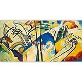 zhxx Peinture par NuméroAdulte Couleur Abstraite Bagout Nature Morte Toile Décoration De Mariage Art GIF 40X50Cm sans Cadre
