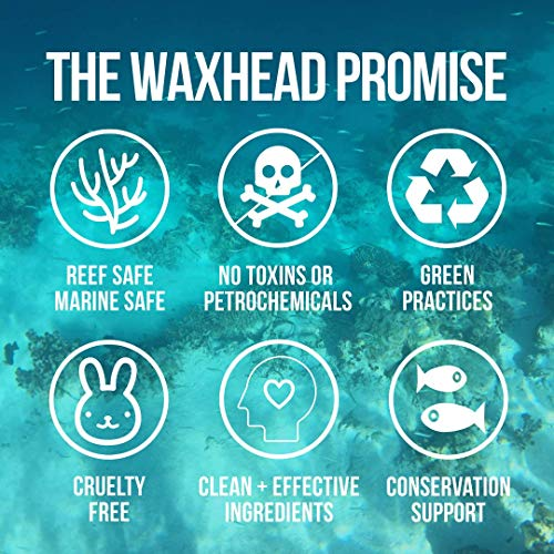 Waxhead Zinc Oxide Sunscreen Stick - Uncommonly Safe for Everyone + Planet: Kid Safe, Baby Safe, Reef Safe, Non-Toxic Clean Label Mineral Formula, SPF 30, 3.7oz (White)