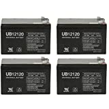 Universal Power Group 12V 12Ah F2 Battery SEA-DOO SEA Scooter 12V GTI EXT. Battery EA. - 4 Pack