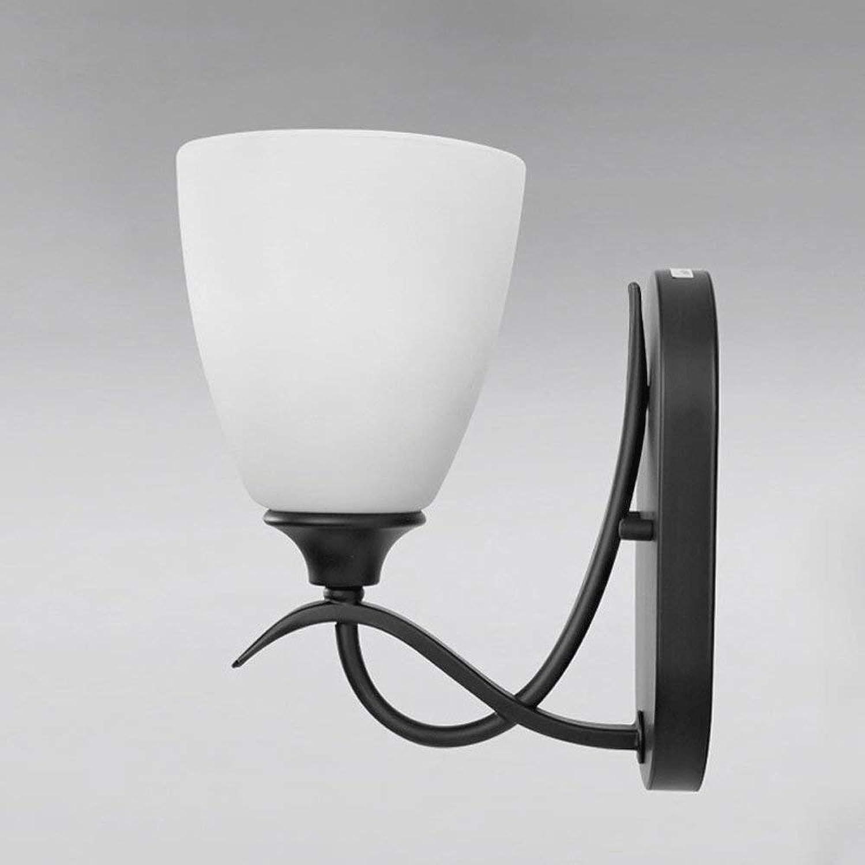 Amerikanischen Stil LED Einzelkopf Wandleuchte Einfache Wohnzimmer Schlafzimmer Nachttischlampe Restaurant Treppe Korridor Balkon Wandleuchte