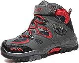 Littleplum Kids Snow Boots Hiking Boots Boys Waterproof Hiker Boot Hiking Shoes for Girls Sneaker