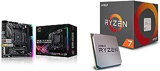 Pack Placa Base ASUS y Procesador AMD:ROG Strix B450-I Gaming y AMD Ryzen 7 2700X