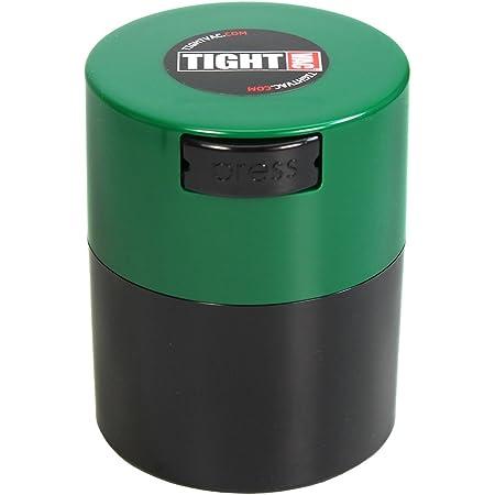 TIGHTVAC TV2-SDG Récipient hermétique, Plastique, Casquette Verte avec Corps Noir.29-Liter/9-Fluid Ounce
