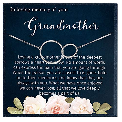 Muse Infinite in Loving Memory of Your Grandmother Grieving Gift for Memorial Gifts for Remembrance Gifts for Bereavement Gifts Sorry for Your Loss Gift for Grief