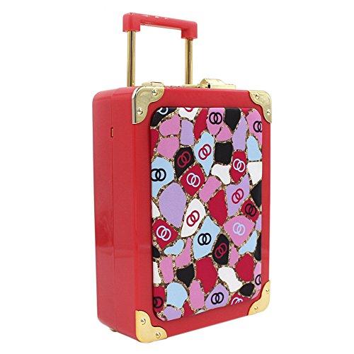 Onfashion mini handtas gemaakt van acryl voor meisjes, tas in de vorm van een bagage, handtas, schoudertas, kleine make-up tas