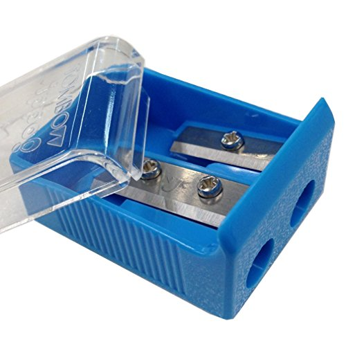 Tombow Ippo Pencil Sharpener, 2 Blade Size, Assorted Colors, 1-Pack Photo #5
