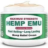 Hemp Emu Cream - Natural Hemp Cream for...