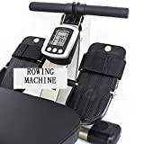 Ruderzugmaschine mit Rudergerät Widerstand Körper Glider Innen Home Ausstattung Bauchbrust Arm Fitnesstraining Ausdauer (Farbe : Mehrfarbig, Größe : Einheitsgröße) - 2