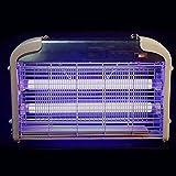 DDJJJB Lampada anti zanzare elettrica domestica LED radiazioni senza zanzare Muto ristorante repellente per zanzare IED luce led 12W,bianca,25 * 23 * 8