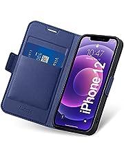 Aunote iphone 12/iphone 12 mini/iphone 12 pro/iphone 12 pro max hoesje flip case portafoglio phone case