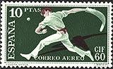 Prophila Collection España 1186 1960 cif 60 Correo aéreo (Sellos para los coleccionistas) Otros Deportes