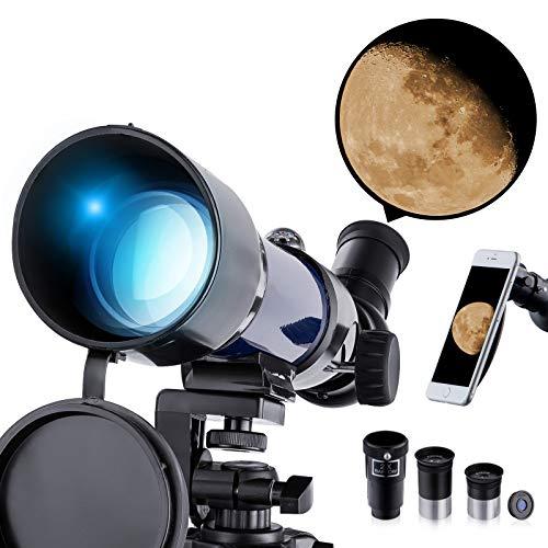 Upgrade telescopio per principianti Bambini Adulti - Telescopio...