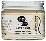 Baking Soda Free Sensitive Skin Lavender Deodorant Cream