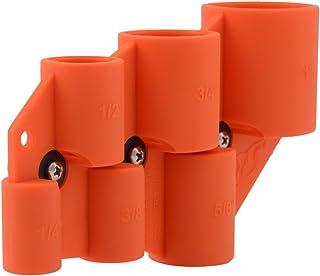 Sharkbite U702A Deburring Pipe and Depth Gauge Tool, Copper, CPVC, PEX, PE-RT, HDPE, 1/4..