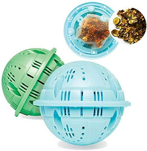 ReNature 洗濯除菌ボール 特殊銅合金洗濯ボール (BLUE&GREEN)