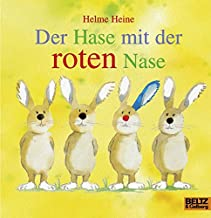 Der Hase mit der roten Nase: Vierfarbiges Papp-Bilderbuch
