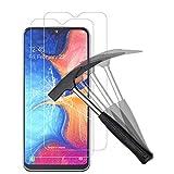 ANEWSIR Protector Pantalla Samsung Galaxy A20e/a10e,[2-Pack ] Cristal Templado [Cristal + Resina] Vidrio Templado con [3D Borde Redondo] [9H Dureza] [Alta Definicion]