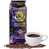 Imagine Kona Organic Coffee Beans | Arabica Kona Beans | Top Grade Air Roasted | Medium Dark Roast | Organic Whole Bean - 16oz