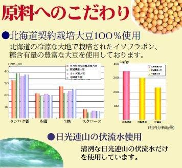 北の大豆無調整豆乳500ml×1本(にがり付)