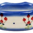 Polish Pottery - Napkin Ring - PJ - The Polish Pottery Outlet