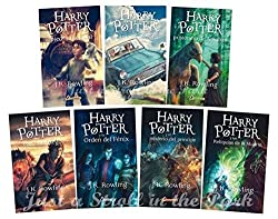 Harry Potter book set in Spanish
