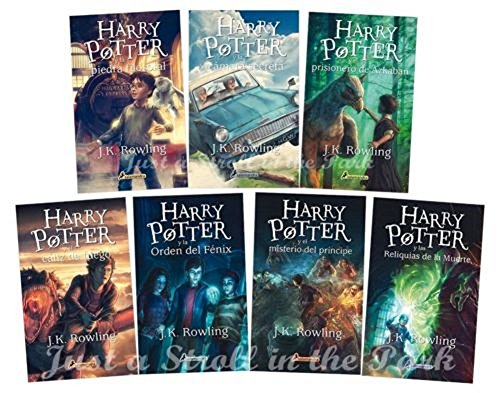 Unbranded Harry Potter Complete Collection [Spanish Edition] Books 1 2 3 4 5 6 7 NUEVOS!
