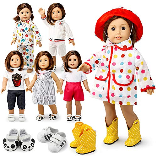 Oct17 Doll Clothes for American Girl 18